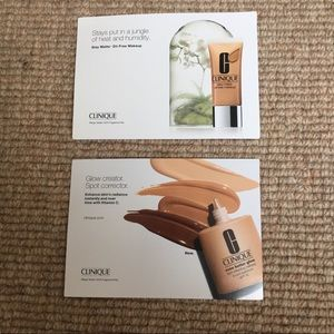 New Clinique Foundation Samples